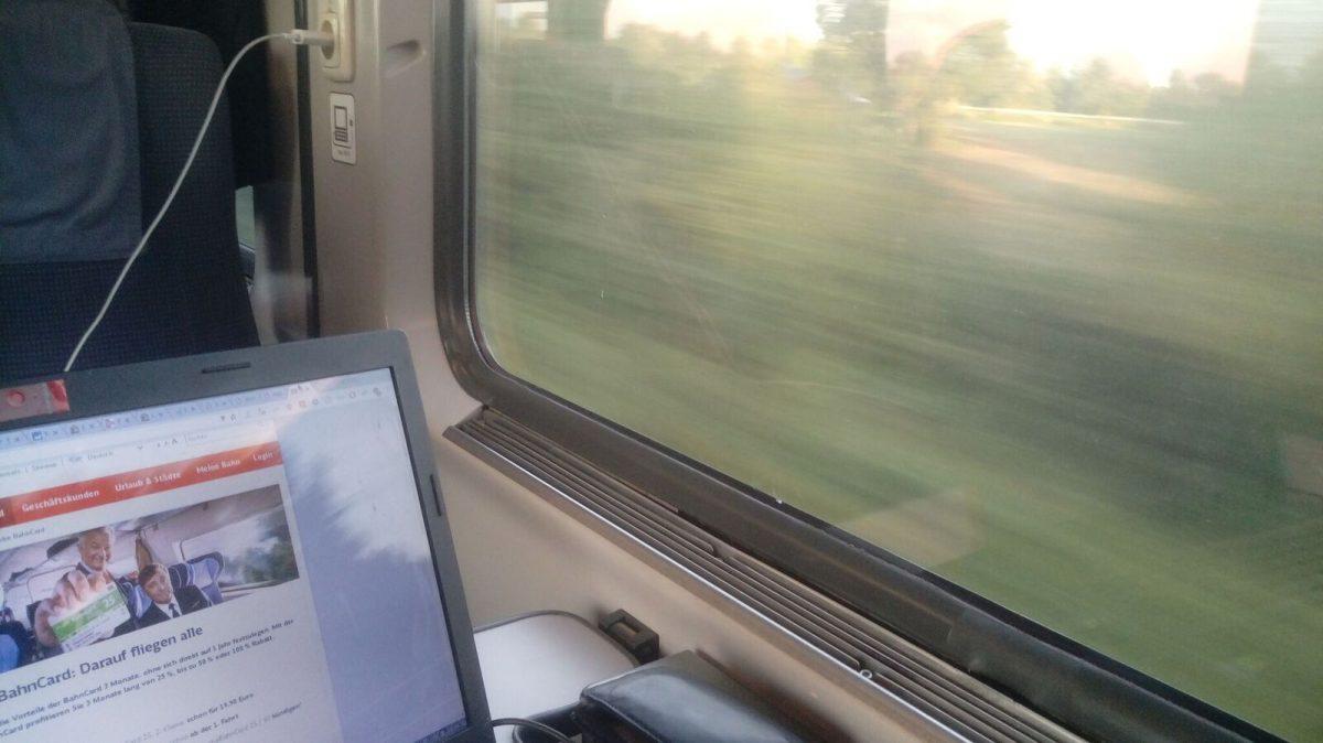 DB Sparpreisticket – Darf ich im Zug sitzen bleiben wenn das Endziel das Gleiche ist?