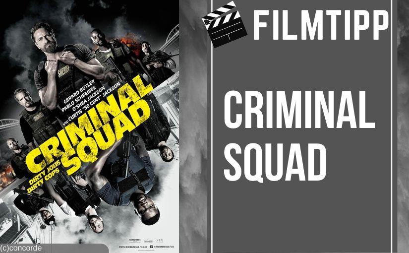 Filmtipp: Criminal Squad mit Gerard Butler